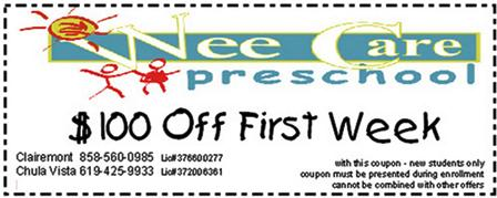 Wee Care Coupon