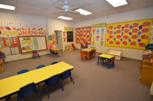 Wee Care Preschool Clairemont room 4d