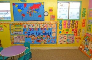 Wee Care Preschool classroom
